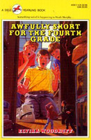 Book cover for Awfully Short for Fourth Grade