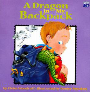 Book cover for A Dragon in My Backpack