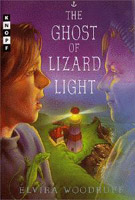 Book cover for The Ghost of Lizard Light