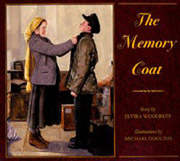 Book cover for The Memory Coat