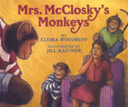 Book cover for Mrs. McClosky's Monkeys