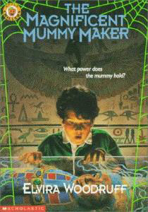 Book cover for The Magnificent Mummy Maker