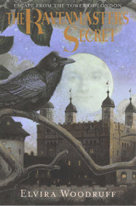 Book cover for The Ravenmaster's Secret