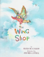 Book cover for The Wing Shop